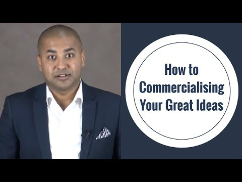 How to Commercialising Your Great Ideas | Top APP Design Company