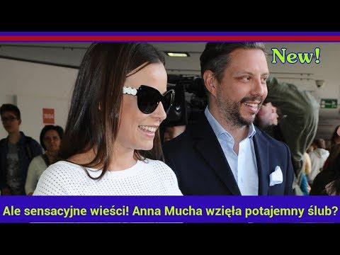 Ale sensacyjne wieści! Anna Mucha wzięła potajemny ślub?
