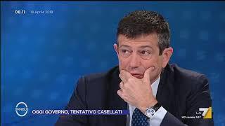 Omnibus - Oggi governo, tentativo Casellati (Puntata 18/04/2018)