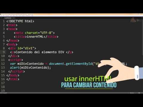 018.- Curso de JavaScript para principiantes. ¿Cómo identifica JavaScript los elementos del DOM?