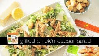 Gardein Grilled Chick'n Caesar Salad W/frozen Teriyaki Chick'n Strips