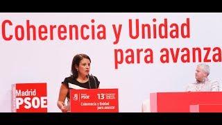 Intervención de Adriana Lastra en la inauguración del Congreso del PSOE-M