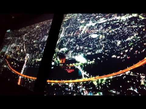 Illustrated Tokyo lights