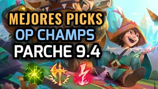 MEJORES PICKS Y CAMPEONES OP - PARCHE 9.4 League of Legends 2019 - OP Champs LOL Temporada 9