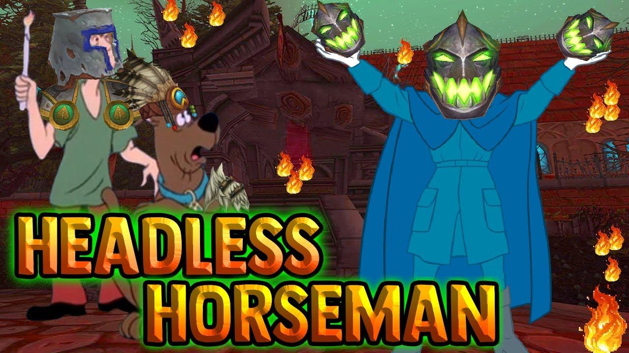 The Story Of The Headless Horseman Lore Youtube