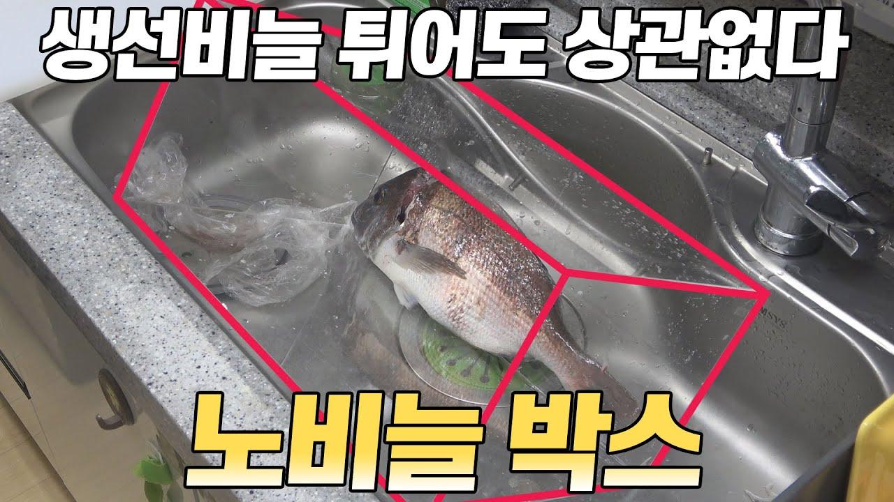 생선비늘 걱정없애주는 아이템 / 낚시인이여 집에서 손질하자 / NO SCALE BOX