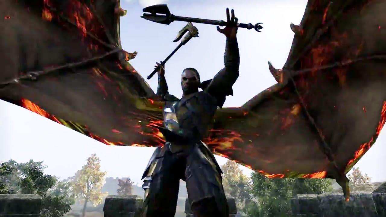 Ps4 The Elder Scrolls Online War In Cyrodiil Trailer