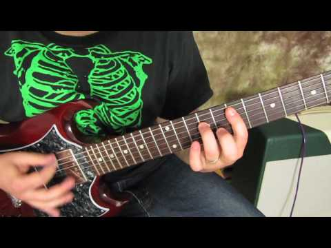 Motorhead - Ace of Spades - Rock Guitar Lesson Tutorial