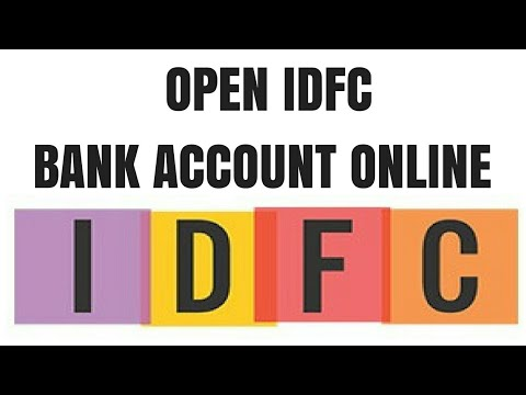 IDFC Zero Balance Bank Account Opening Online | How to Open
