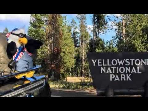 BMW K1600GTL - Yellowstone West Entrance (Montana) to Biscuit Basin (geysers)