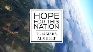 """Bibelstudium: """"Tillbedjan & lovsång - ett överlåtet liv""""  HOPE FOR THIS NATION – ÄLMHULT"""