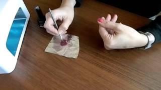 Как сделать кисточкой градиентный маникюр гель лаком