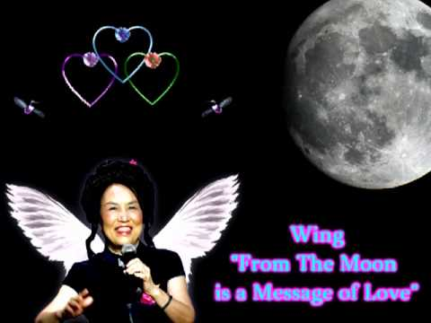 From The Moon is a Message Of Love-  Wing