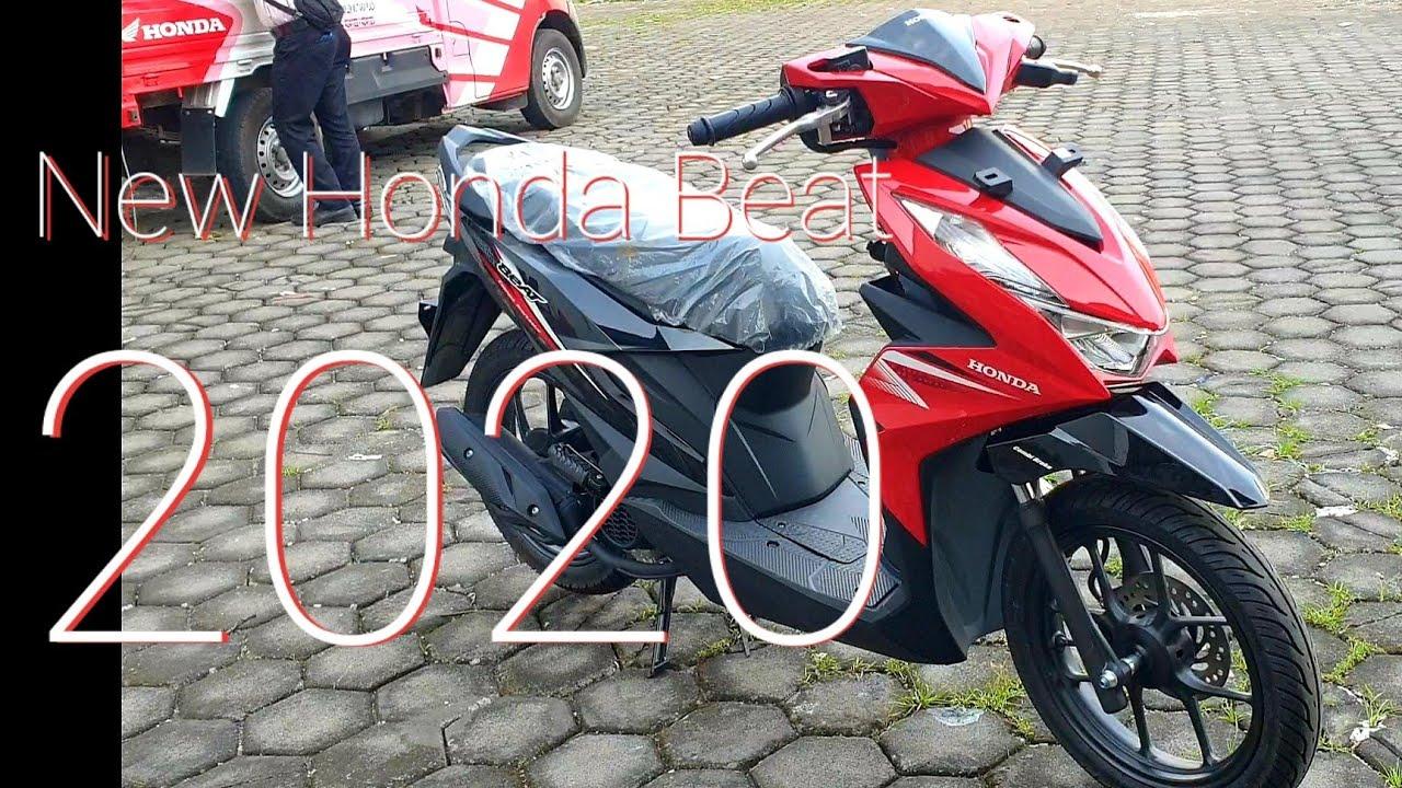 New Honda Beat 2020 Cbs Merah Hitam Youtube