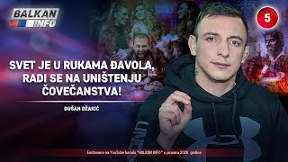 INTERVJU: Dušan Džakić - Svet je u rukama đavola, radi se na uništenju čovečanstva! (16.1.2020)