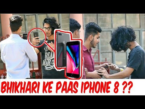 Rich Beggar with IPHONE 8 | GONE WRONG | Pranks in india