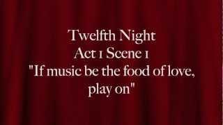 Twelfth Night: Duke Orsino