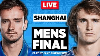 🔴 MEDVEDEV vs ZVEREV | Shanghai Masters 2019 | LIVE Tennis Stream Play-by-Play