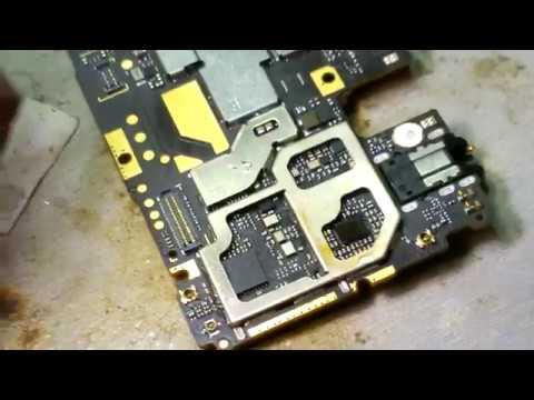 Ремонт телефонов в Люберцах. Xiaomi Redmi Note 5A нет сети сломан трансивер