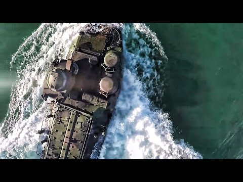 Camp Pendleton Marines Training • Amphibious Assault Landing