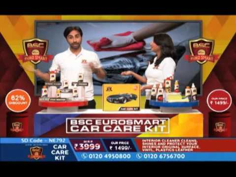 Bsc Euro Smart Car Care Kit 1499 S H199 Youtube