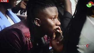 The Moment Stone Bwoy was Announced 2019 VGMA Reggae Dancehall Artiste of the Year
