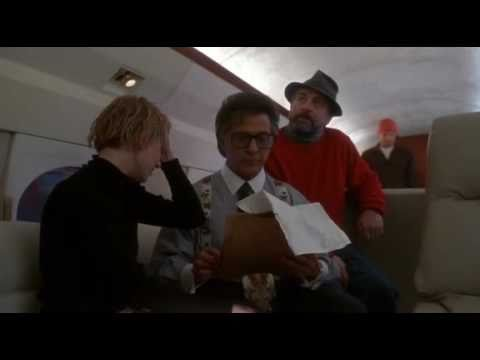 Wag the Dog - Scene in Plane