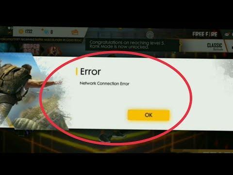 Garena Free Fire Game | Fix Network Connection Error Problem Solve