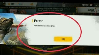 Garena Free Fire Game | Fix Network Connection Error Problem Solve