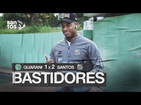 GUARANI 1 X 2 SANTOS | BASTIDORES | PAULISTÃO (27/01/20)