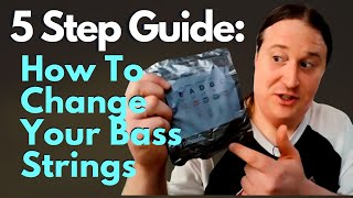 How To Change Bąss Strings // 5 Simple Steps
