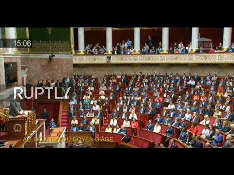 LIVE: French lawmakers to vote for new lower house president
