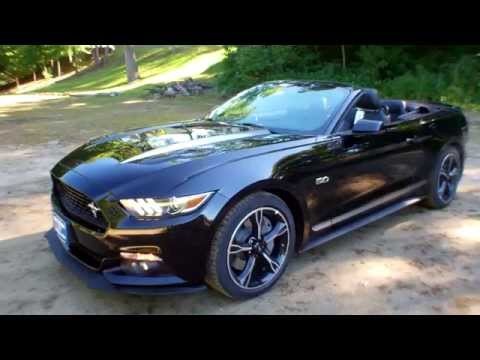 lowest price 2016 ford mustang gtcs convertible for sale near portland maine youtube. Black Bedroom Furniture Sets. Home Design Ideas