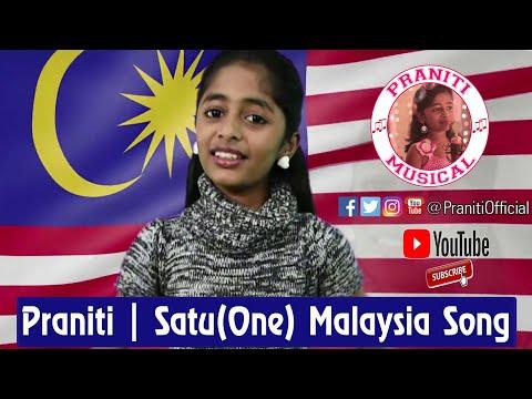 Praniti | Satu (One) Malaysia | Dazzling Tamizhachi | Malik Streams