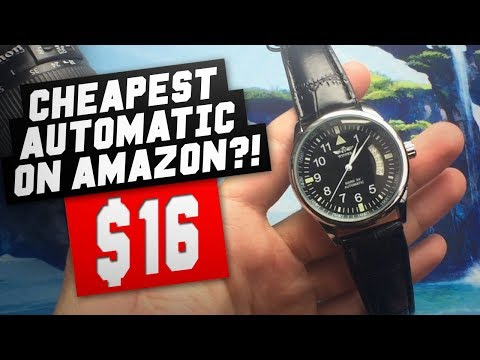 Automatic Watch For $16?! Fanmis/Winner Pilot Watch Unboxing & First Impressions/Review