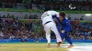 Judo | Mexico v Korea | Men's -81kg Gold Medal Contest | Rio 2016 Paralympic Games
