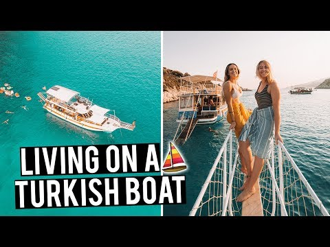Living on a Turkish Boat | Sailing in Turkey