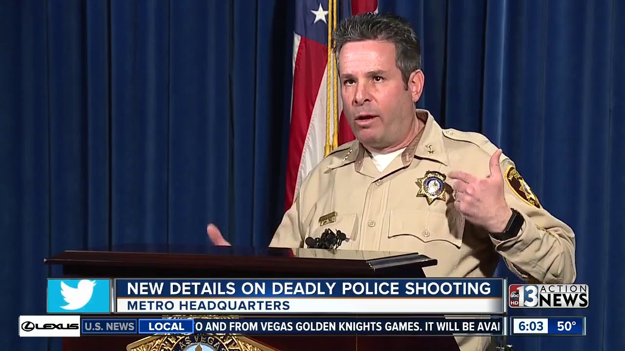 Suspect arrested in shooting that left Las Vegas Metro Officer in ...