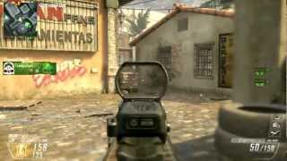 Call Of Duty Black Ops 2 Multiplayer Gameplay Xbox 360 - Domination on Slums -
