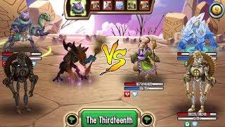 Monster Legends - Teamwar #47 Nature Metal Epic review combat