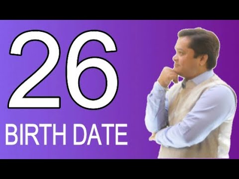 Birth Date26 in Numerology and you#Birth Date number26#Secret of26 birth date#free numerology report