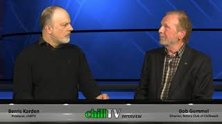 "chillTV's Rotary Corner! ""Looping The Vedder"" with guest Bob Gemmel"