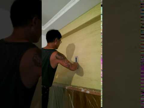 硅藻土圖案施作案例影片-6