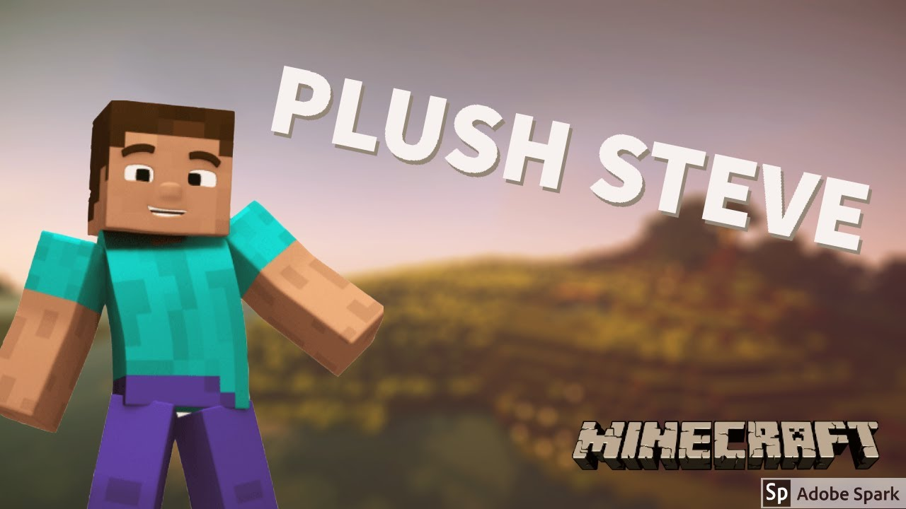 Minecraft: How To Build Plush Steve! *Updated*