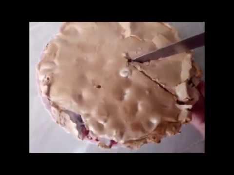Пирог с вишней - объедение