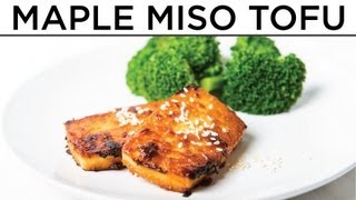 Maple Miso Tofu - The Hot Plate