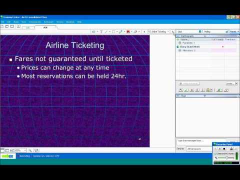 Travel Agent Training Video: Airfares and Consolidators - Pulaski Tickets & Tours