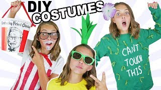 DIY Halloween Costumes | How To Make Fun Easy Pineapple and Cactus Costume