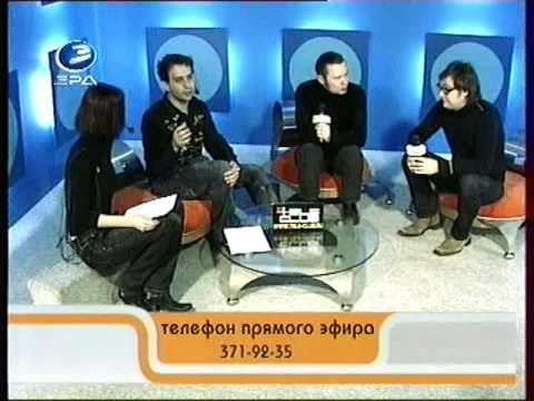 Hooverphonic - Interview (Ekaterinburg, 13.12.2008) Part 1