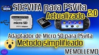 Configurar Adaptador SD2VITA PSVita | Método Simplificado |